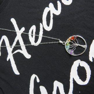 Chakra-tree-of-life-silver-necklace- pendant-min