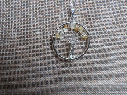 Citrine-tree-of-life-silver-necklace-min