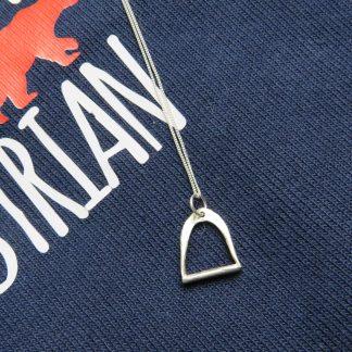 handmade-stirrup-silver-necklace