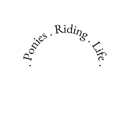 ponies riding life