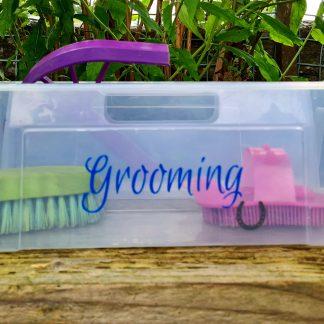 grooming label